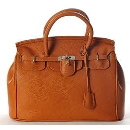 Maison De Decoration©Nouveau sac à main d'emballage de clef de cadenas de cuir de vache à Hobo de brun de la conception des femmes (brun)