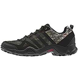 adidas Outdoor AX2 Hiking Shoe - Men\'s Camo Earth Green/Black/University Red 9.5
