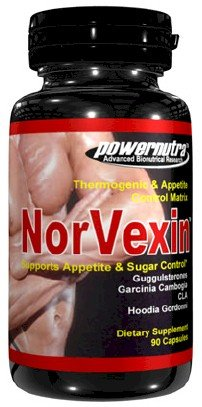 Norvexin - 90 Capsules Fat Burner with Hoodia Gordonii and CLA Conjugated Linoleic Acid Garcinia Cambogia Weight Loss Diet Pills