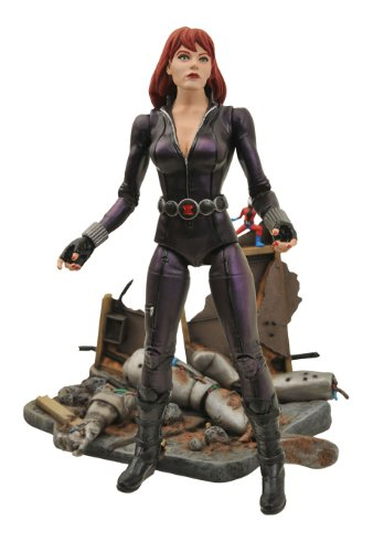 Marvel Select: Black Widow Action Figure (Black Widow Action Figure 12 Inch compare prices)