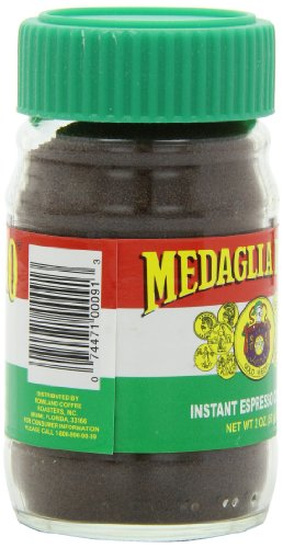 Medaglia D'Oro Instant Espresso Coffee, 2 Ounce (Pack of 12)