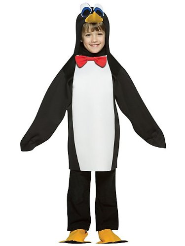 Rasta Imposta - Penguin Child Costume - Small (4-6x) - Black/White