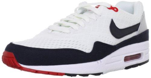 Nike Air Max 1 EM LAM White Dark Obsidian 554718 106 Size9 5