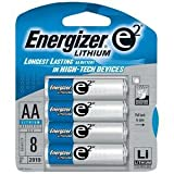Energizer E2 Lithium L91bp-8 Lithium Photo Batteries (1.5v; 8 Pk)