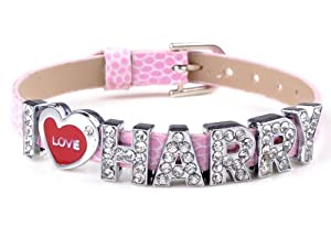 I Love Harry One Direction Member 1d Wristbands Bracelet For Boys Girls by Yiwu City Yinuo E-Commercial Business Co.,Ltd