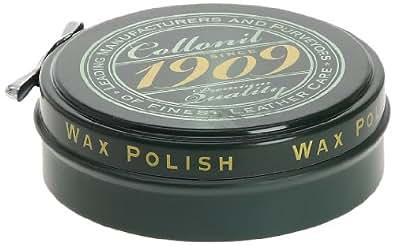 Collonil 1909 Wax Polish, Cirage - Marron (Marron Foncé), 75 ml