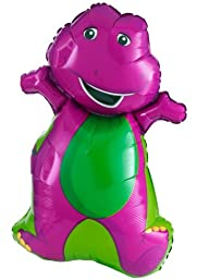 34″ Barney The Dinosaur Balloon