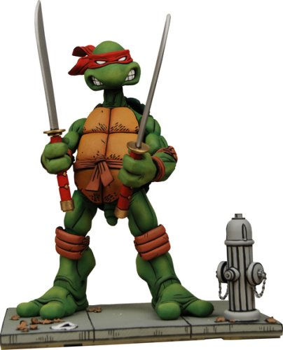 Picture of NECA Teenage Mutant Ninja Turtles NECA Comic Style Action Figure Leonardo (B001734W76) (TNMT Action Figures)