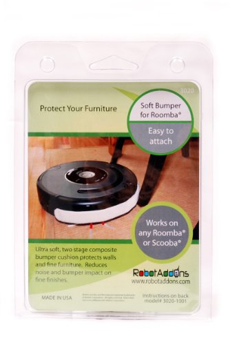 Robot Add-Ons Ultra Soft Bumper for Roomba or Scooba (I Robot Roomba Accessories compare prices)