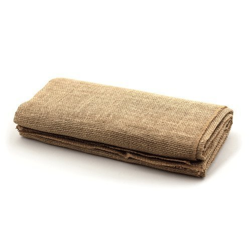 LinenTablecloth Square Burlap Tablecloth, 60-Inch (Burlap Table Cover compare prices)