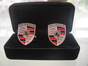 Porsche Cufflinks by Auto Accessories