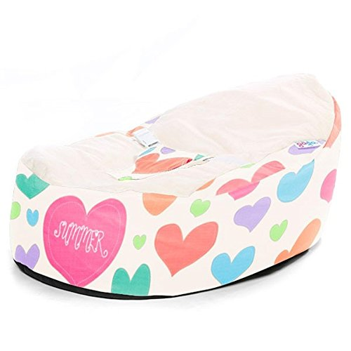 Groovy Best Deal Gaga Cuddlesoft Soft Sewn Hearts Baby Bean Bag Pabps2019 Chair Design Images Pabps2019Com