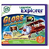 Leapfrog Explorer Learning Game: Globe: Earth Adventures 39048 (Works With Leappad & Leapster)