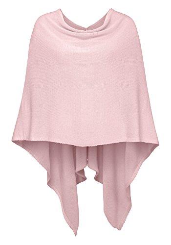 Poncho für Damen von Zwillingsherz / Modischer All-Rounder für Frauen als Alternative zu einem Strickwaren / Pulli / Strick-Pullover /...