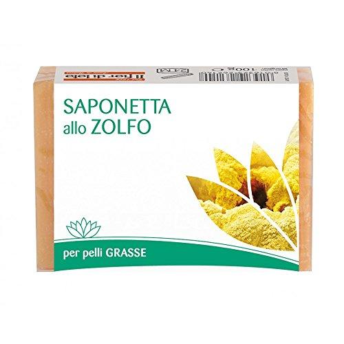 Il Fior Di Loto Saponetta Allo Zolfo Per Pelli Grasse 100 G
