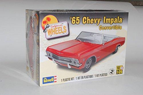 chevrolet-chevy-impala-cabrio-1965-rot-bausatz-kit-1-25-1-24-revell-modell-auto