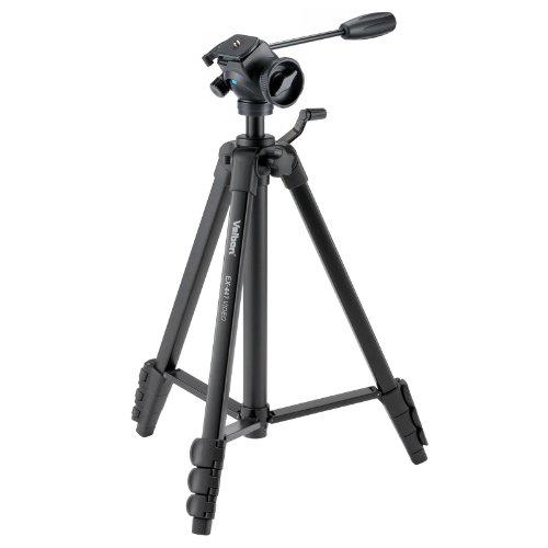 Velbon ビデオカメラ用三脚 EX-447 VIDEO 4段 小型20mm ビデオカメラ用雲台付属 アルミ製 301468