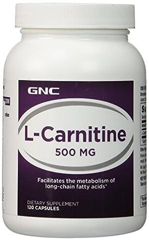 GNC L-Carnitine 500 500mg 120 Capsules