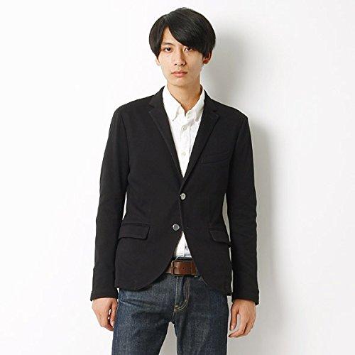 MKオム(MK homme) ジャケット(カノコバックボーダージャケット)【94ブラック/48】