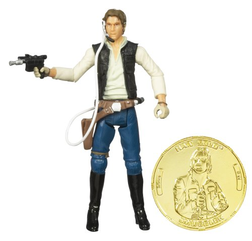 Star Wars 30th Anniversary - A New Hope - HAN SOLO with Exclusive Collector GOLD Coin