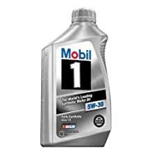Mobil 1 94001 5W-30 Synthetic Motor Oil - 1 Quart Bottle (Pack of 6)