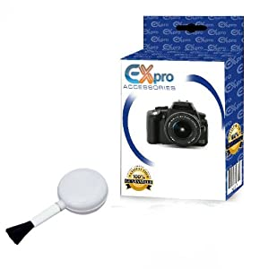 Ex-Pro Anti-Static Camera Photo Video Cleaning Clean Air Dust Blower Brush