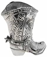 Arthur Court Cowboy Boot 1-1/2 Quart Pitcher/Wine Bottle Holder