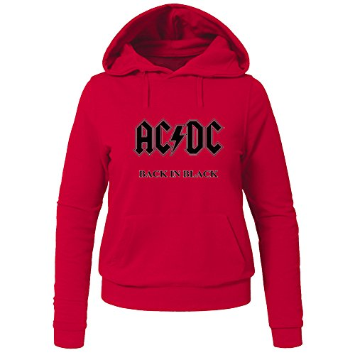 AC/DC ACDC Official Highway to Hell For Ladies Womens Hoodies Sweatshirts Pullover Outlet
