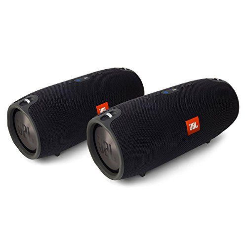 JBL Xtreme Portable Wireless Bluetooth Speakers - Pair (Black)