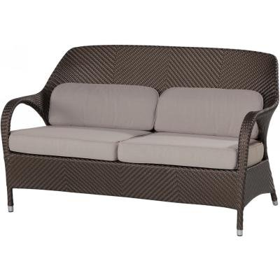 4 Seasons Outdoor Sussex 2-Sitzer Sofa Polyrattan gold