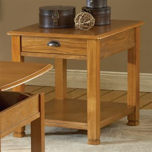 Image of Bernards 8037 End Table, Oak (B005D7QS7E)