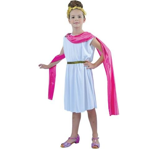 Roman Goddess Cutie Girl Kids Fancy Dress Costume