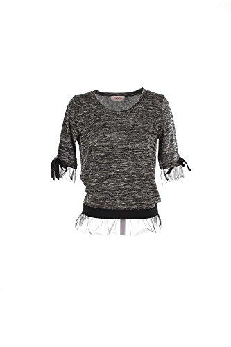 GRUNLAND ADRI CI0249 grigio ciabatte donna maglia 38
