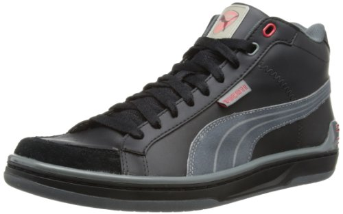 Puma Mens Evo Ducati Mid High-Top 303927-01 Black/Sedona Sage 11 UK, 46 EU