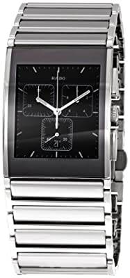 Rado Men's RADO-R20849159 Integral Chronograph Watch by Rainbow Linens