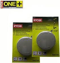 Comprar RYOBI RAC124 - Carrete y tapa de repuesto para las desbrozadoras eléctricas OLT1831 y RLT1830Li (2 unidades)