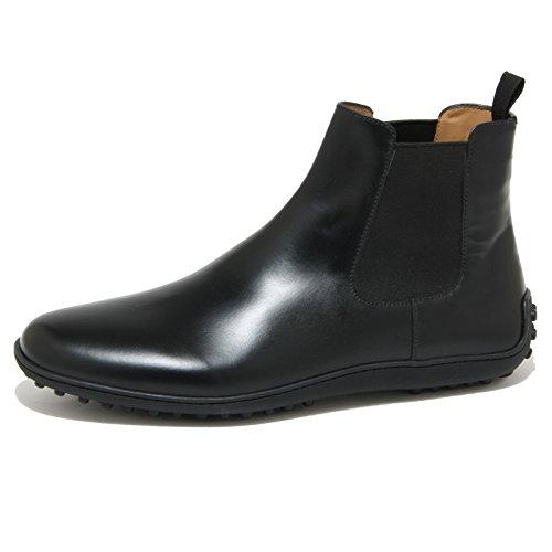 0931O beatles CAR SHOE nero polacchini uomo boots men [9.5]