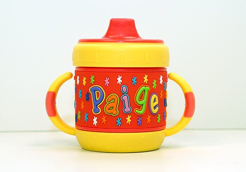 Personalized Sippy Cup: Paige front-416366