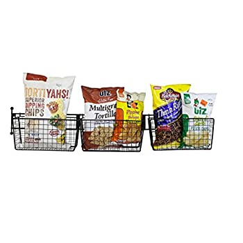 JMiles UH-WS230 Numbered Hanging Storage Basket System - Removable Hanging Basket Storage System with Numbers for Ease of Organization