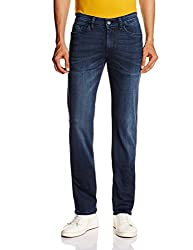 Celio Men's Coenz Slim Fit Jeans (3596654124133_Coenz1Aw15_33W x 34L_Blue)
