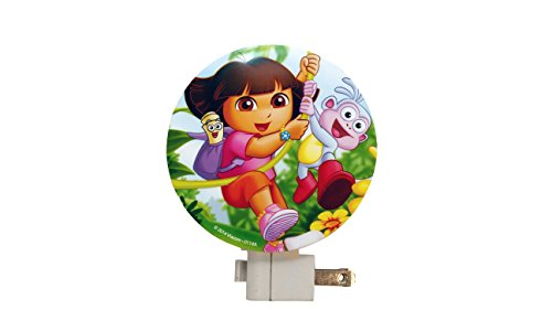 Nickelodeon Kids' Night Light, Dora the Explorer, Pack of 3