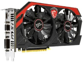 MSI GTX 750 Ti 2GB 128-Bit GDDR5 Video Card