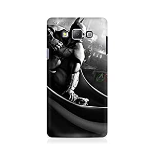 Ebby Batman Cloak City Fist Premium Printed Case For Samsung On 7