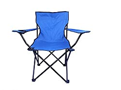 DivineXt Folding Camping Chair Portable Fishing Beach Outdoor Collapsible Chairs- Color May Vay