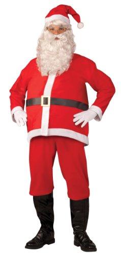 Forum Novelties Promotional Santa Claus Suit, White/Red, X-Large Costume - 1