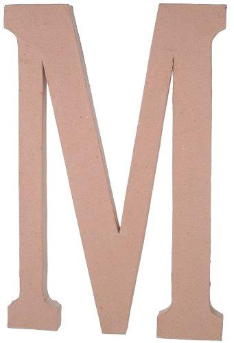 Paper Mache Letter - M - 23.5 Inches
