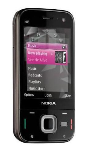 Nokia N85 Unlocked Phone  8 GB Memory, 5 MP Camera,