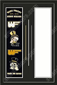 Wake Forest Demon Deacons & Your Choice of other Team Heritage Banner... by Art and More, Davenport, IA