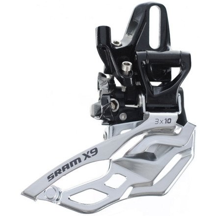 Sram X9 3X10 High Direct Mount Front Derailleur One Color, Traditional Pull