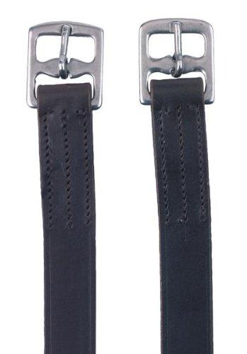 Kerbl Steigbügelriemen Leder braun, 150cm/29mm,